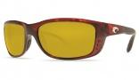 Costa Del Mar Zane Sunglasses - Shiny Tortoise Frame Sunglasses - Sunrise / 580P