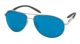 Costa Del Mar Wingman Sunglasses Palladium Frame Sunglasses - Blue Mirror Glass/COSTA 400