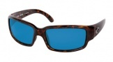 Costa Del Mar Caballito Sunglasses Shiny Tortoise Frame Sunglasses - Copper Glass/COSTA 580