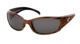 Costa Del Mar Hammerhead Sunglasses Driftwood Frame Sunglasses - Gray / 580P