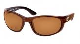 Costa Del Mar Howler Sunglasses Driftwood Frame Sunglasses - Amber / 580P