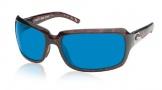 Costa Del Mar Isabela Sunglasses Shiny Tortoise Frame Sunglasses - Amber / 400G