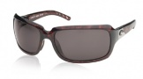 Costa Del Mar Isabela Sunglasses Shiny Tortoise Frame Sunglasses - Gray / 580P