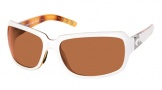 Costa Del Mar Isabela Sunglasses White Tortoise Frame Sunglasses - Copper / 580P