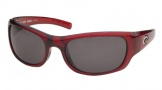 Costa Del Mar Riomar - Red Crystal Frame Sunglasses - Gray Glass/COSTA 580