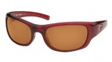 Costa Del Mar Riomar - Red Crystal Frame Sunglasses - Amber CR 39/COSTA 400