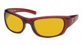 Costa Del Mar Riomar - Red Crystal Frame Sunglasses - Sunrise CR 39/COSTA 400