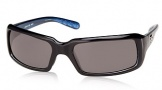 Costa Del Mar Switchfoot Sunglasses Shiny Black Frame Sunglasses - Gray CR 39/COSTA 400
