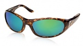 Costa Del Mar Swordfish - Shiny Tortoise Frame Sunglasses - Green Mirror Glass/COSTA 580