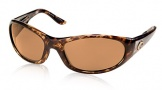 Costa Del Mar Swordfish - Shiny Tortoise Frame Sunglasses - Amber Glass/COSTA 400