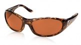 Costa Del Mar Swordfish - Shiny Tortoise Frame Sunglasses - Vermillion Glass/COSTA 400