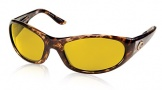 Costa Del Mar Swordfish - Shiny Tortoise Frame Sunglasses - Sunrise Glass/COSTA 400