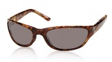 Costa Del Mar Triple Tail Sunglasses Shiny Tortoise Frame Sunglasses - Gray / 580P
