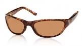 Costa Del Mar Triple Tail Sunglasses Shiny Tortoise Frame Sunglasses - Amber / 580P