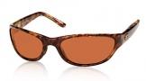 Costa Del Mar Triple Tail Sunglasses Shiny Tortoise Frame Sunglasses - Copper / 580P