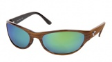 Costa Del Mar Triple Tail Sunglasses Driftwood Frame Sunglasses - Copper Glass/COSTA 580