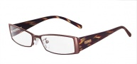 Fendi F602 Eyeglasses - 210 Brown