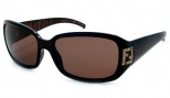Fendi FS 350R Sunglasses Sunglasses - 200 Brown / Brown