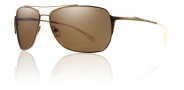 Smith Rosewood Sunglasses Sunglasses - Matte Desert / Polarized Brown