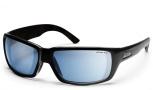 Smith Touchstone Sunglasses Sunglasses - Black/ Polar Blue Mirror