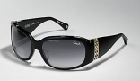Coach Jacqueline S828 Sunglasses - 001 Black / Gray Gradient