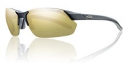 Smith Parallel Max Sunglasses Sunglasses - Matte Black / Polarized Gold Mirror