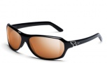 Smith Capital (Prescription Ready) Sunglasses - Black / Polarchromic Copper Mirror
