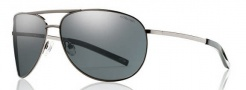 Smith Serpico Sunglasses Sunglasses - Gunmetal / Polarized Gray