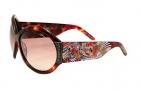 Ed Hardy EHS 002 Koi Fish Sunglasses - Tortoise