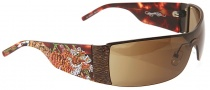 Ed Hardy EHS 009 Tiger Running Sunglasses - Tortoise