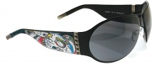 Ed Hardy EHS 011 Battle Sunglasses - Black