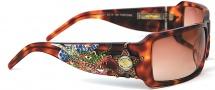 Ed Hardy EHS 021 Dragon Sheriff Sunglasses - Tortoise
