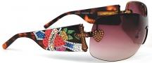 Ed Hardy EHS 023 Zeke Sunglasses - Tortoise