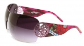 Ed Hardy EHS 024 Beyonce 2 Sunglasses - Amethyst