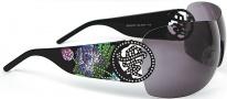 Ed Hardy EHS 024 Beyonce 2 Sunglasses - Black