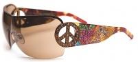 Ed Hardy EHS 027 Pin Up 2 Sunglasses Sunglasses - Tortoise