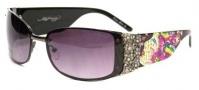 Ed Hardy EHS 028 Medusa Sunglasses - Black