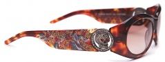 Ed Hardy EHS 032 King Sunglasses - Tortoise