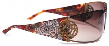 Ed Hardy EHS 039 Love Kills Slowly 3 Sunglasses - Tortoise