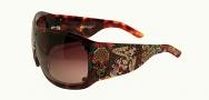 Ed Hardy EHS 050 Spider Girl Sunglasses - Tortoise