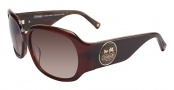 Coach Noreen S826 Sunglasses - 606 Burgundy Horn
