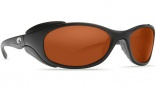 Costa Del Mar Frigate Sunglasses Matte Black Sunglasses - Copper / 580P