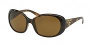 Prada PR 27LS Sunglasses Sunglasses - 2AU5Y1 Havana / Polarized Brown