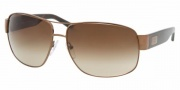 Prada PR 61LS Sunglasses Sunglasses - 8AE6S1 Tobacco / Brown Gradient