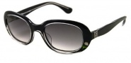 Fendi FS 5013 Sunglasses - 001 Black / Gray Gradient