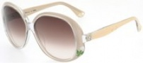 Fendi FS 5012 Sunglasses - 108 Pearl / Brown Gradient