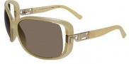 Fendi FS 5004 Sunglasses - 275 Creamy Beige / Brown