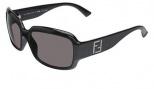 Fendi FS 5003 Sunglasses - 001 Black / Gray