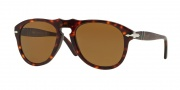 Persol PO 0649 Sunglasses Sunglasses - 24/57 Havana / Crystal Brown Polarized