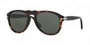 Persol PO 0649 Sunglasses Sunglasses - 24/31 Havana / Crystal Green